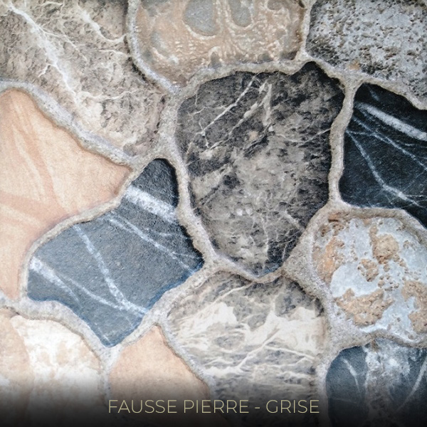 FAUSSE PIERRE GRISE